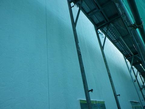 エポキシ微弾性フィラー下塗り塗装完了