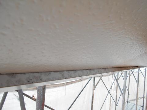 トタン破風板の見返しはサビが出やすい
