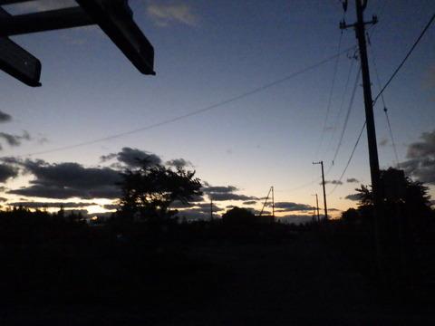 日が沈むのが早くなりましたね~