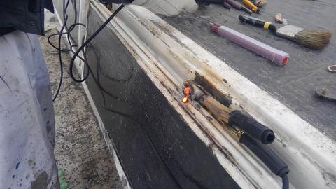 鉄が溶けるほどの高温か