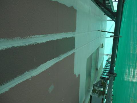 微弾性エポキシフィラー塗装