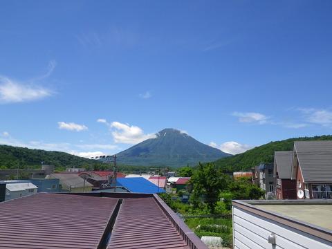 こっちが蝦夷富士、羊蹄山です!