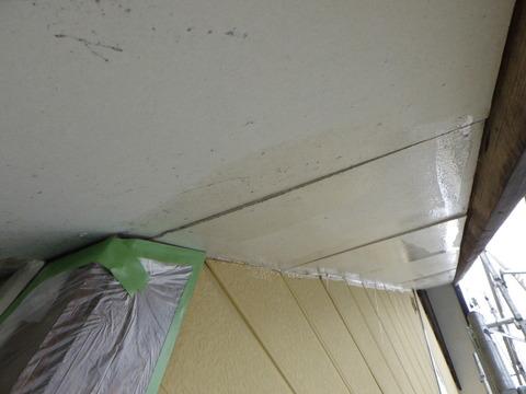 軒天井シーラー塗装