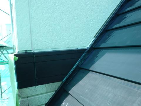 屋根と壁のすき間が重要なんです