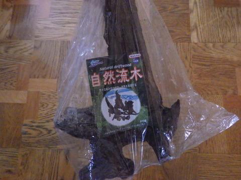 流木のパックです^^
