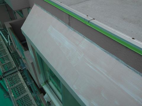 出窓上の斜壁は要注意箇所です