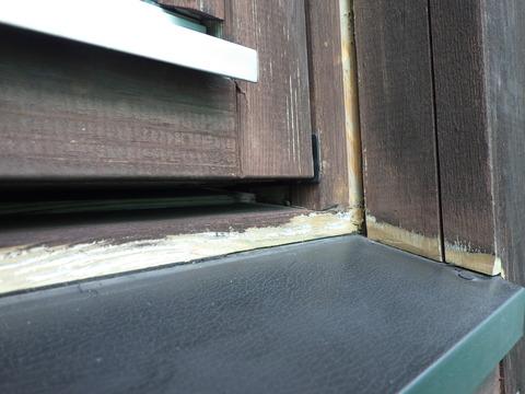 窓廻り既存シーリング撤去