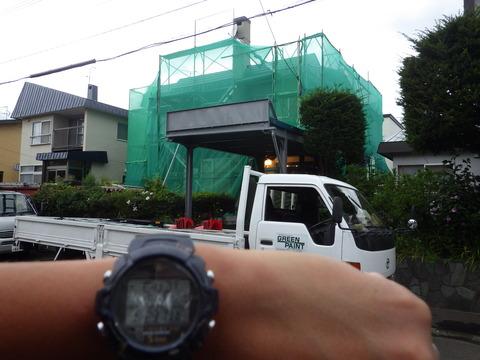 次は北区篠路住宅の塗装工事です!