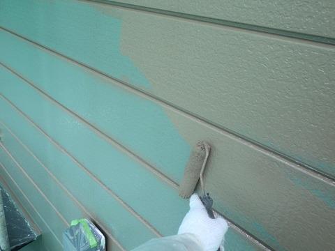 色違い中塗り後の指定色上塗り