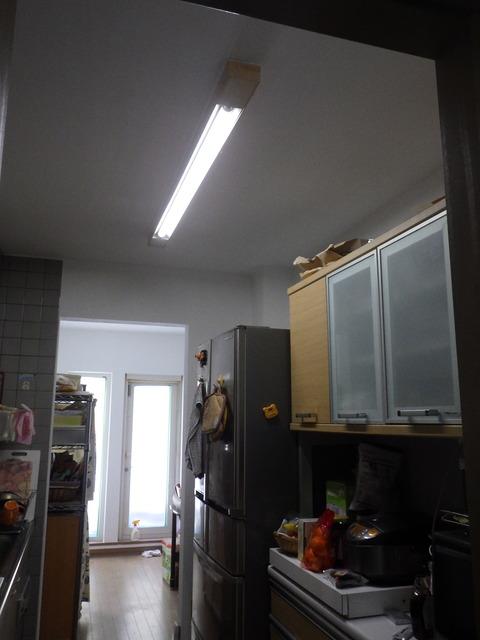 キッチン塗装完了