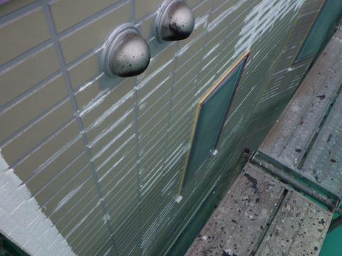 シーラー塗装後の下地補修