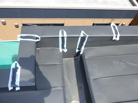 屋根端末シーリング