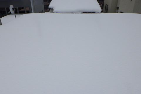 60cm位の積雪