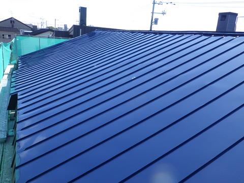 屋根塗装も完了