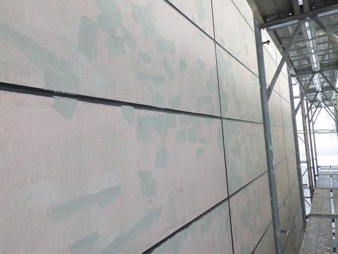 外壁目地、窓廻りシーリング施工完了