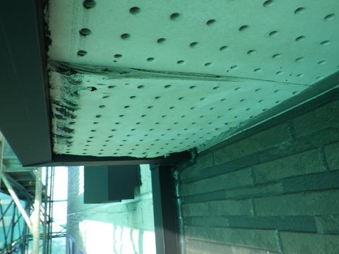 軒天井板の劣化