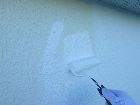 微弾性フィラー外壁全面塗装