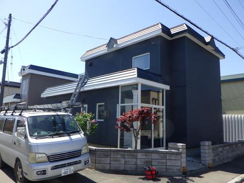 本日は屋根塗装