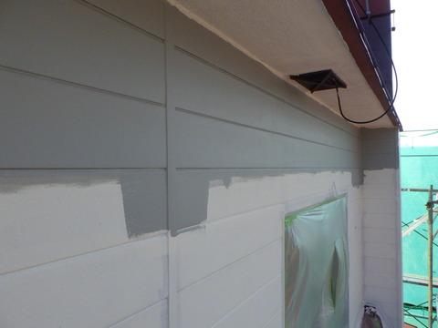 サビの酷かったところは錆止めタッチアップ塗装
