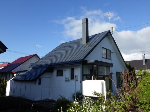 代表的な三角屋根ですね