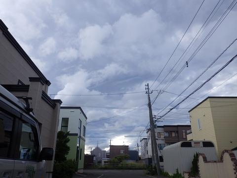 9月5日の大型台風前