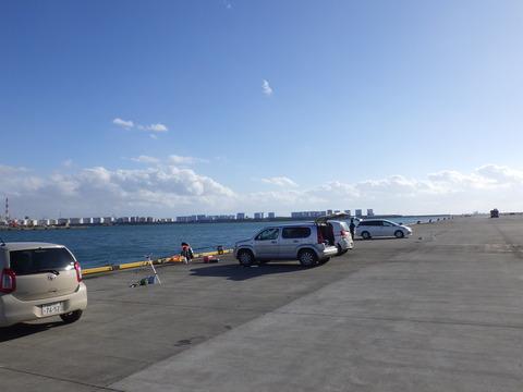 12月の苫小牧港
