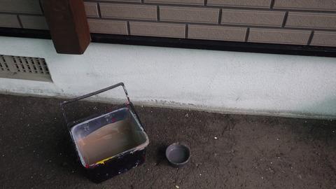 外壁凹凸部用現地調色塗料