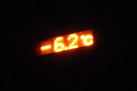 現在-6.2℃