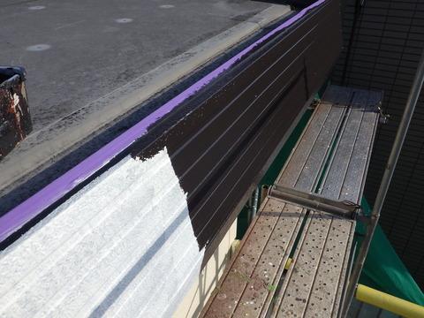 ハイソリッド屋根用シリコン塗装