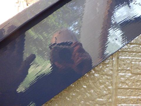 ハイソリッド塗料は鏡面仕上げが可能です