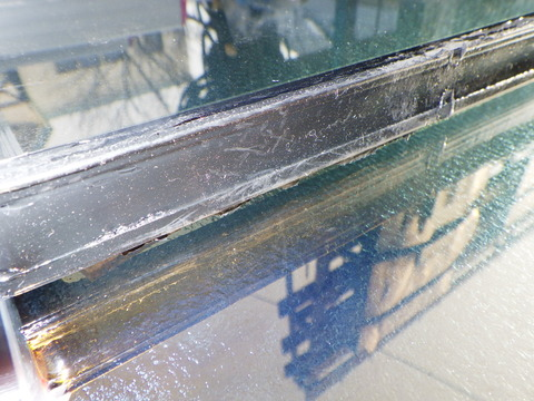 複層ガラスの端部