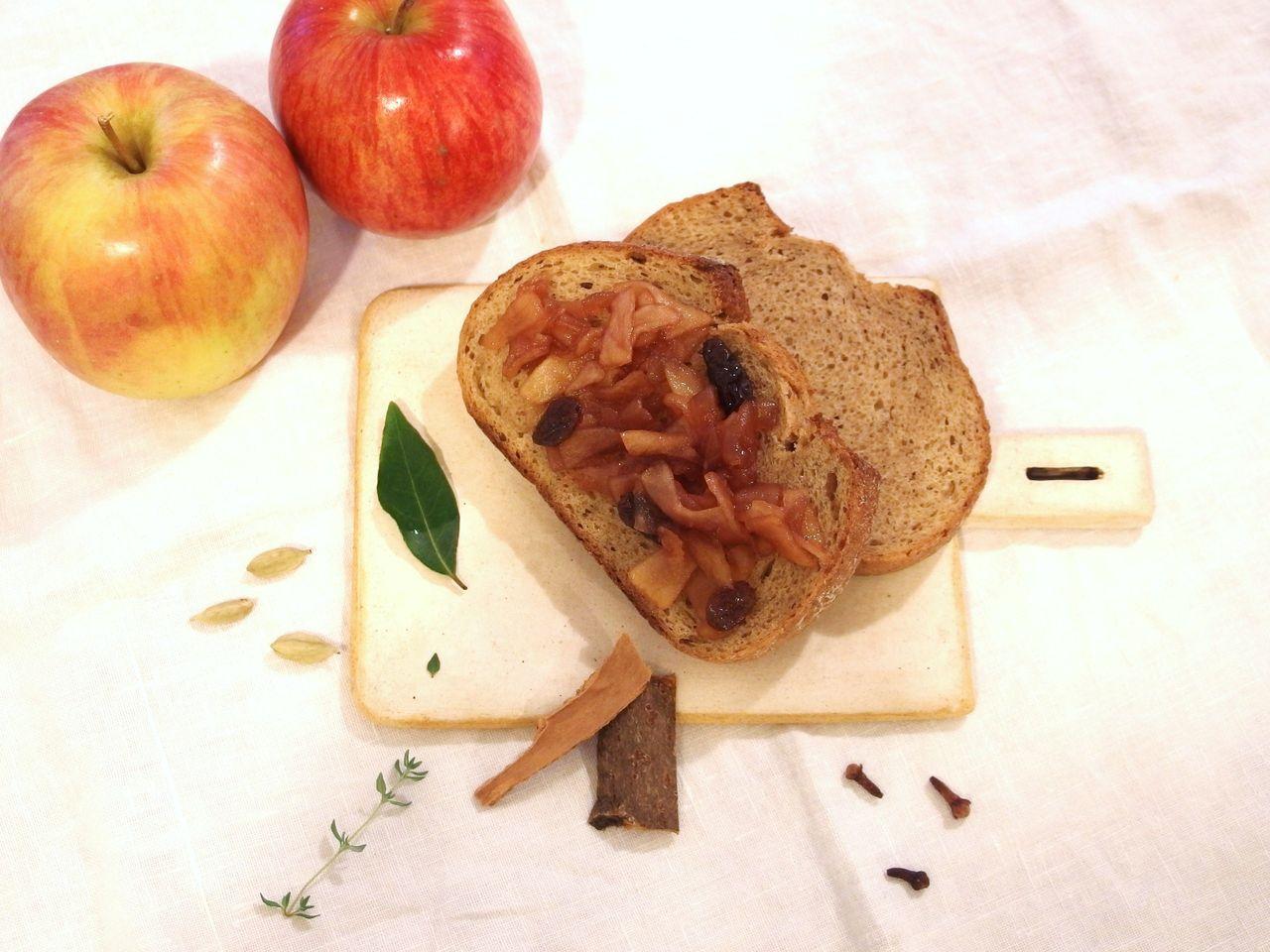林檎スパイスジャム2