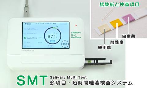 多項目・短時間唾液検査システム「SMT」