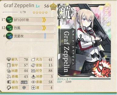 Graf Zeppelin大破