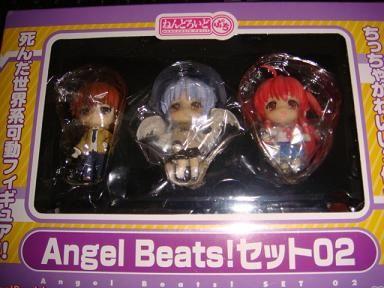 ねんどろいどぷち Angel Beats!セット02