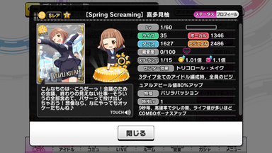 [Spring Screaming]喜多見柚