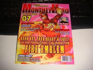 特製ブックレット『MONTHLY HERO』