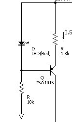 定電流回路の回路図