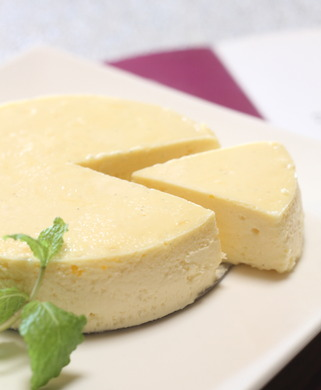 02白いチーズケーキ2