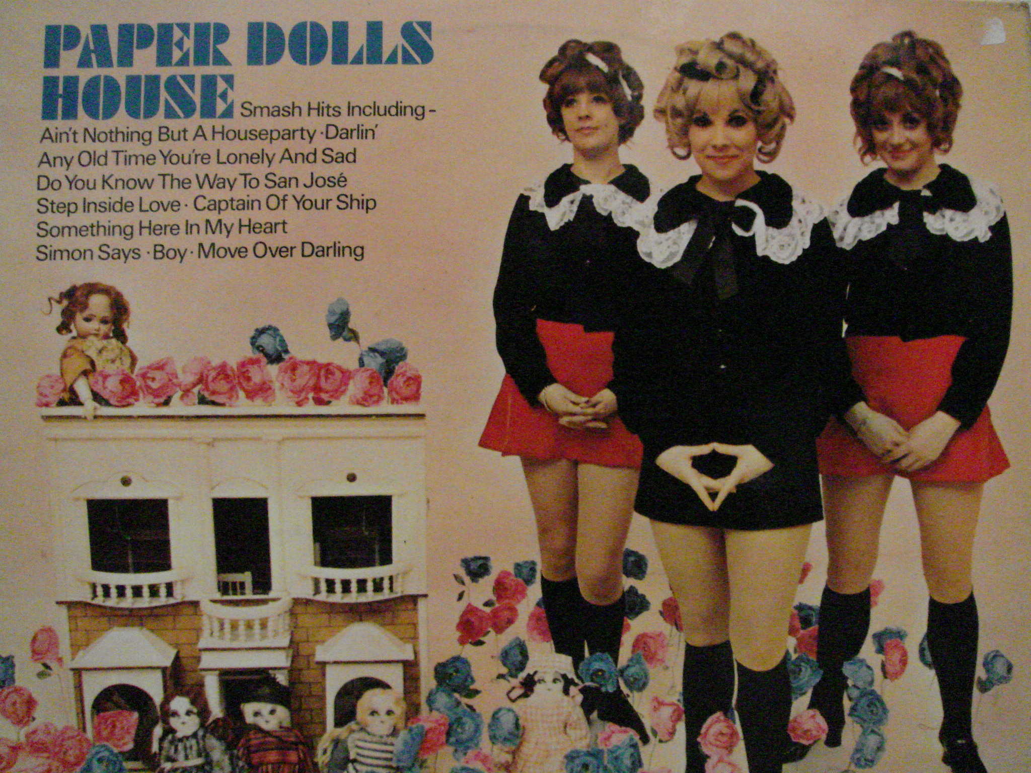 Groovy music a go go 19 paper dolls paper dolls house for Groovy house music