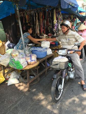 ベトナムのドライブスルー