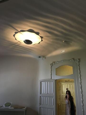 カサ・ミラの室内