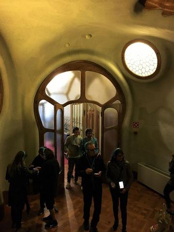 カサ・バトリョの入り口
