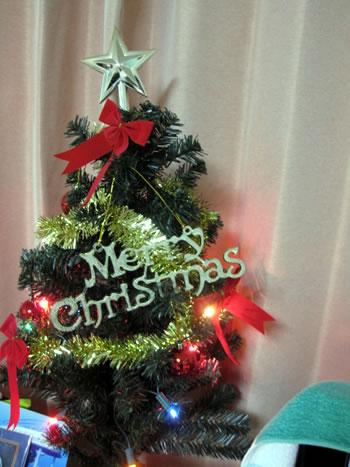 我が家のクリスマスツリーです