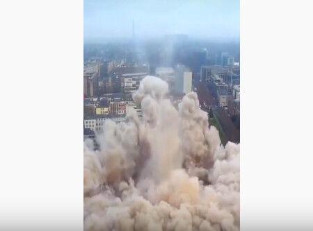 00013.建物爆破解体まとめ動画・失敗なしのスッキリ仕様