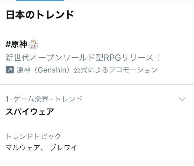 スパイウェア Genshin