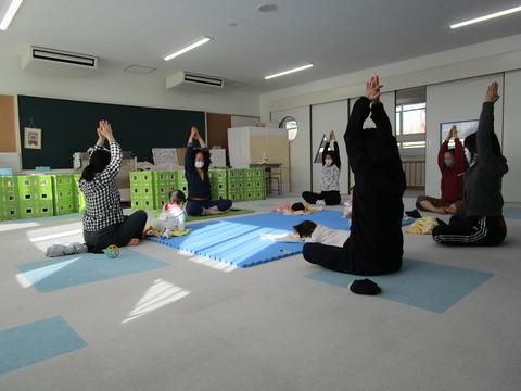 【20210115児童館】親子でヨガ