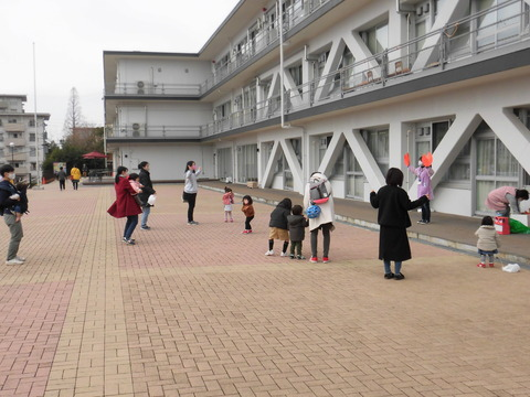 【20200105児童館】エビカニクス