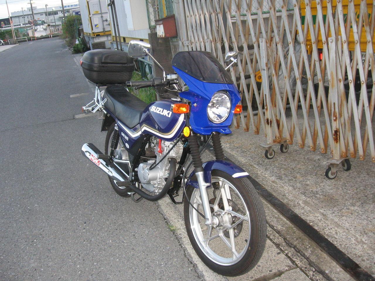 2012年07月12日 : GS125がゆく!
