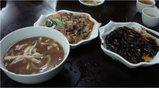 麺、野菜炒め